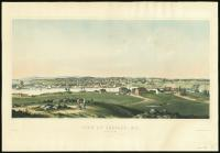 View of Belfast from Roger's Hill, 1853