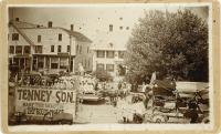 July Fourth parade in Market Square, Houlton, ca. 1899