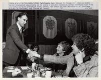 California governor campaigning, 1980