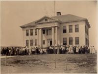 Stanley School, Kingfield, ca. 1907