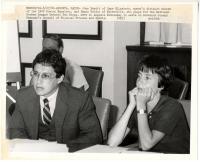 Joan Benoit, Danny Bolduc in Augusta, 1980