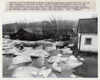 Androscoggin River flood, Rumford, 1981
