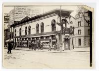 Hay Drug Store, Free and Congress Streets, Portland, ca. 1912