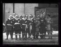 Raquetteurs, Biddeford, 1927