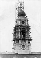 City Hall clocktower construction, 1912
