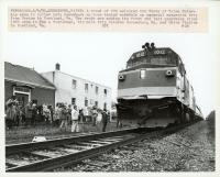 State of Maine train, Kennebunk, 1982