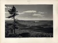View from Sentinel, Baxter State Park, 1944
