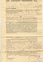 William Jones apprenticeship contract, Houlton, ca. 1835