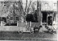 Horse and wagon, Congress Street, Portland, ca. 1890
