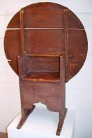 Chair/table, possibly York County, ca. 1715