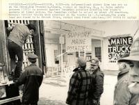 Potato protest, Houlton, 1982