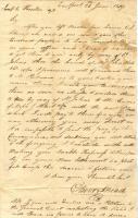 Letter to Joseph Houlton - June 26, 1809