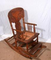 Child's rocking-high chair, Littleton, ca. 1910