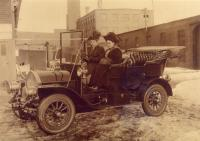 1907 Model Knox Car, The Portland Company