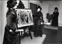 Three dresses, ca. 1870s