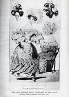 Ladies' Magazine fashion plate, 1830