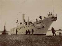 Gunboat Vicksburg, Kittery Navy Yard, 1897