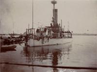 Gunboat Miantonowah, Kittery Navy Yard, 1897