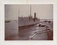 Dynamite cruiser, Kittery Navy Yard, 1897