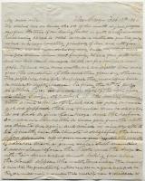 John Davison letter from Veracruz, Mexico, February 17, 1846