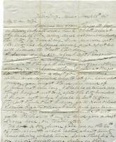 John Davison to wife from Veracruz, Mexico, March 28, 1847