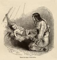 Illustration to accompany the poem The Song of Hiawatha,  c. 1880