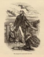 Illustration to accompany the poem The Wreck of the Hesperus, c. 1880