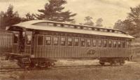 Intercolonial Railway Car No.1, Portland Company, ca. 1870s