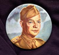 General Dwight D. Eisenhower button