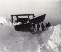 Bell Snow Plow, Littleton, 1936