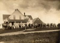 Frank Longstaff farm, Crystal, ca.  1922