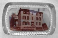 Longfellow birthplace paperweight, ca. 1930