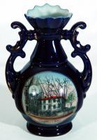 Wadsworth-Longfellow House souvenir vase, ca. 1925