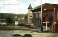 Market Square, Augusta, ca. 1900