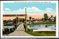 Island Park, Cobbosseecontee Lake