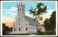 St. Augustine Church, Augusta, ca. 1900