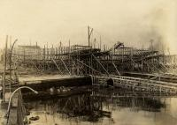 Fishing steamers, Rockland, ca. 1911