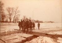 Cutting ice, Kennebec River, ca. 1895