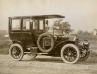 Knox Limousine automobile, c. 1910