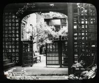 Children's Gate, Longfellow Garden, Portland, ca. 1930
