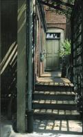 Wadsworth-Longfellow house back door, Portland, ca. 1930