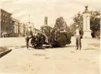 Steamroller in Portland, ca. 1917