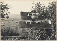 Sign Board, New Portland, ca. 1931