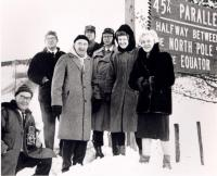 Margaret Chase Smith at 45th Parallel, 1964