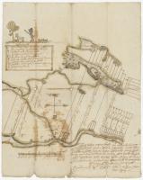 Map of Cobbosseecontee Stream, 1765