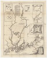 Kennebec,Sagadahok Rivers, 1755