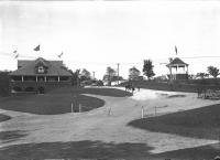 Riverton Park Casino and Bandstand, Portland, ca. 1900