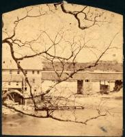 Old Toll Bridge, Brunswick, 1875