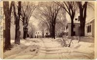 Elm Street, Topsham, 1887