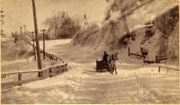 After the snowstorm, Topsham, 1887
